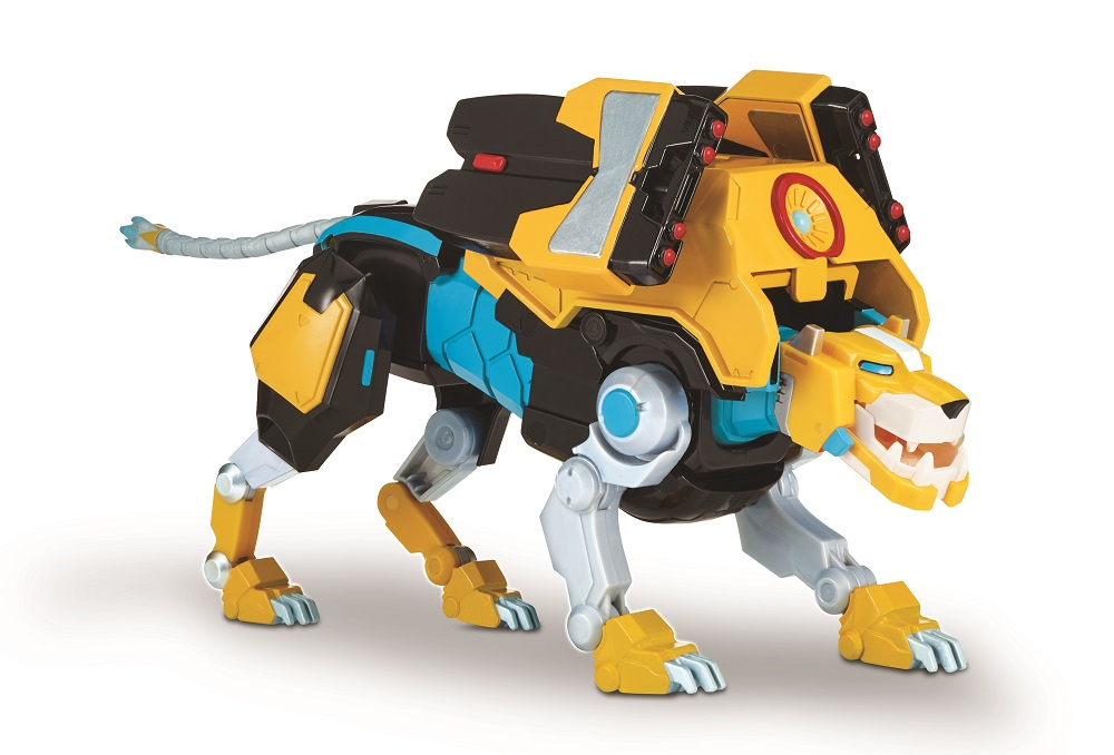 Yellow Lion Hyper-Phase Voltron