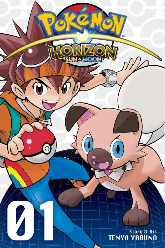 Pokemon Horizon Sun and Moon Manga VIZ Media