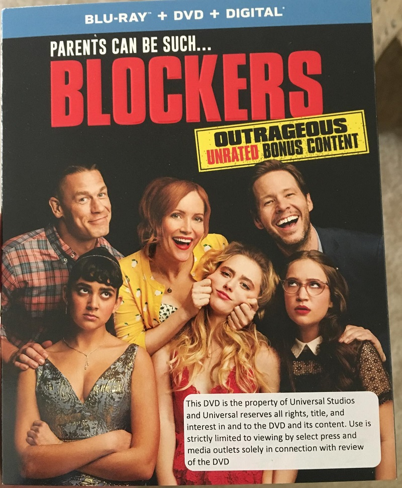 Blockers Blu-ray DVD review