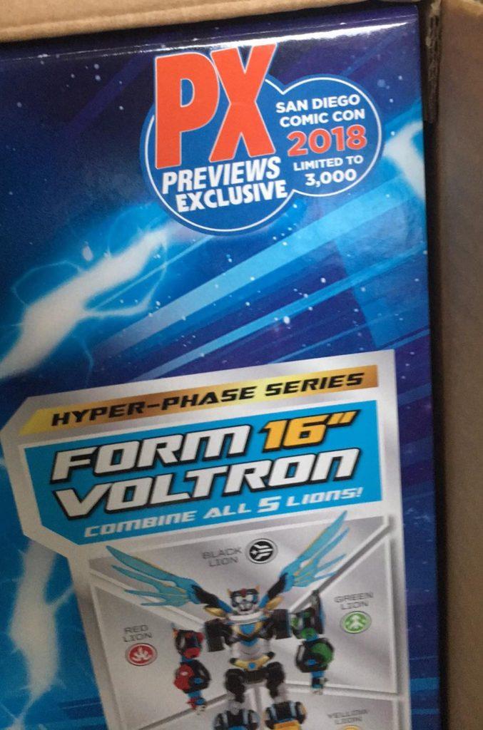 Hyper-Phase Voltron Defender