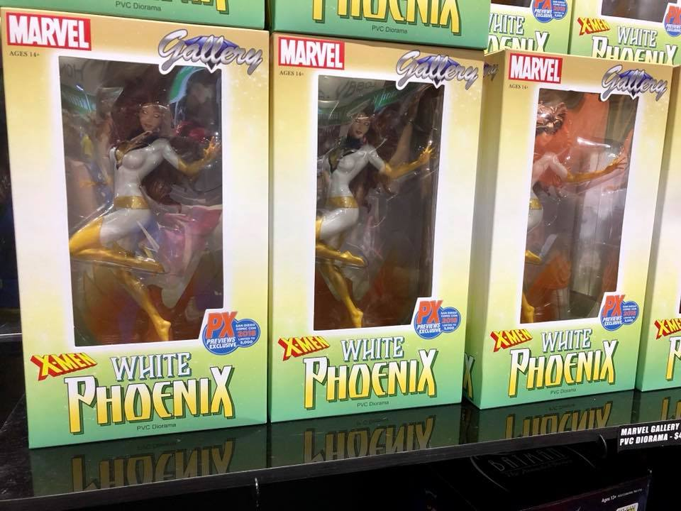 diamond select toys sdcc 2018 white phoenix