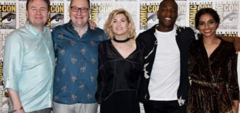 Jodie Whittaker's Doctor Who SDCC Debut!