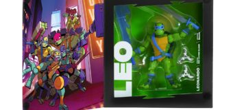 Check Out Rise of the Teenage Mutant Ninja Turtles Exclusive Figures at SDCC 2018