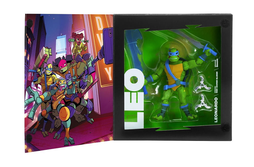 Rise of the Teenage Mutant Ninja Turtles exclusive SDCC 2018 figures
