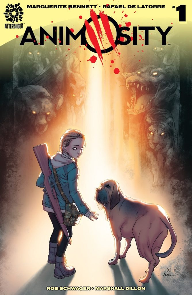 Animosity Issue 1 Aftershock Legendary film rights
