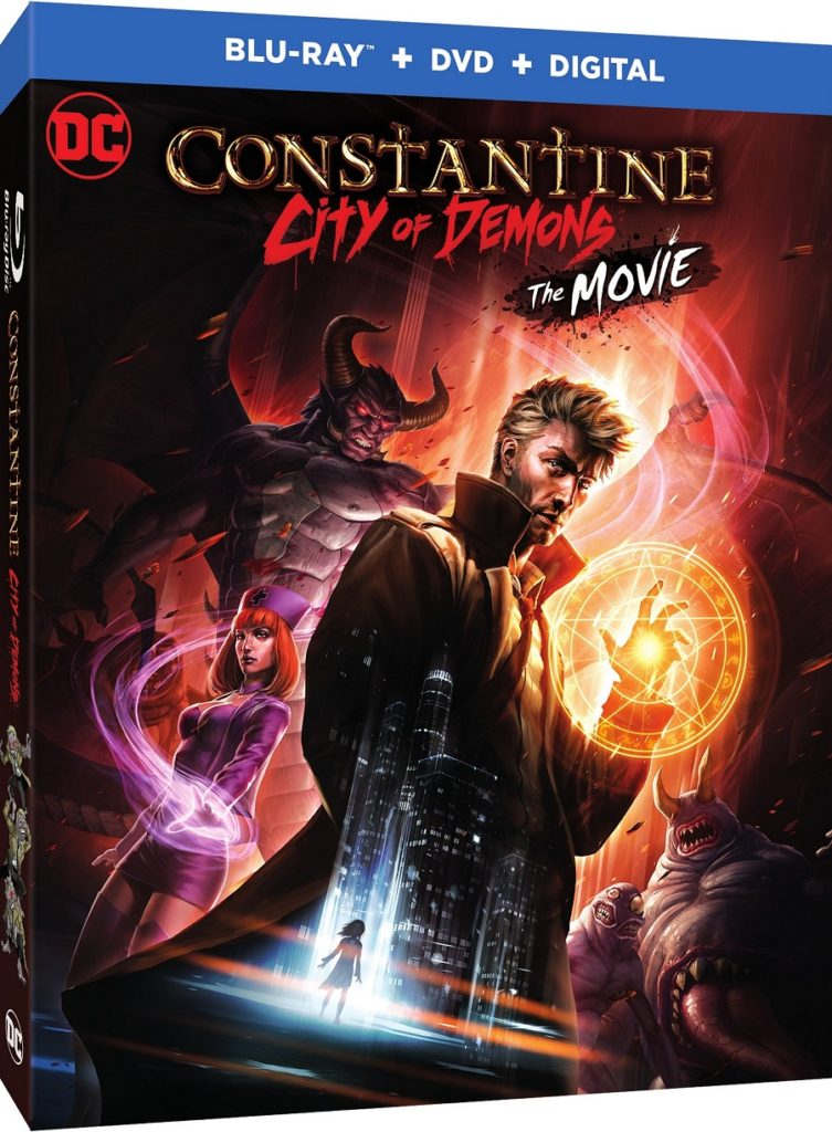Constantine City of Demons Blu-ray Warner Bros release