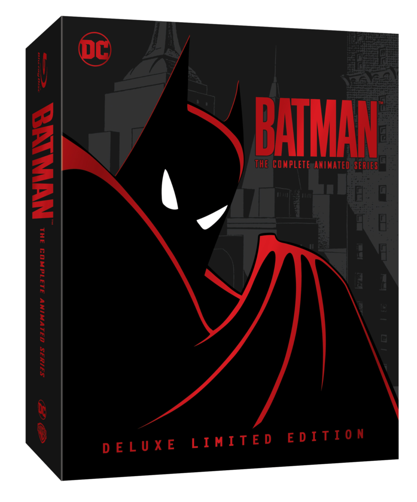 Batman The Animated Series Deluxe Limited Edition Blu-ray