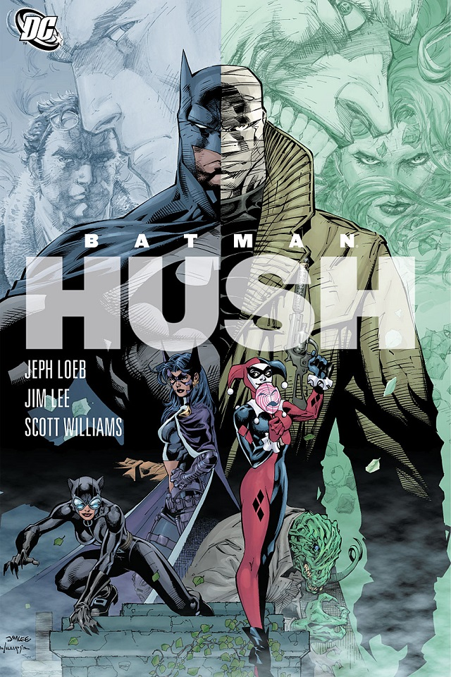 Batman Hush animated movie announced SDCC 18 Day 2