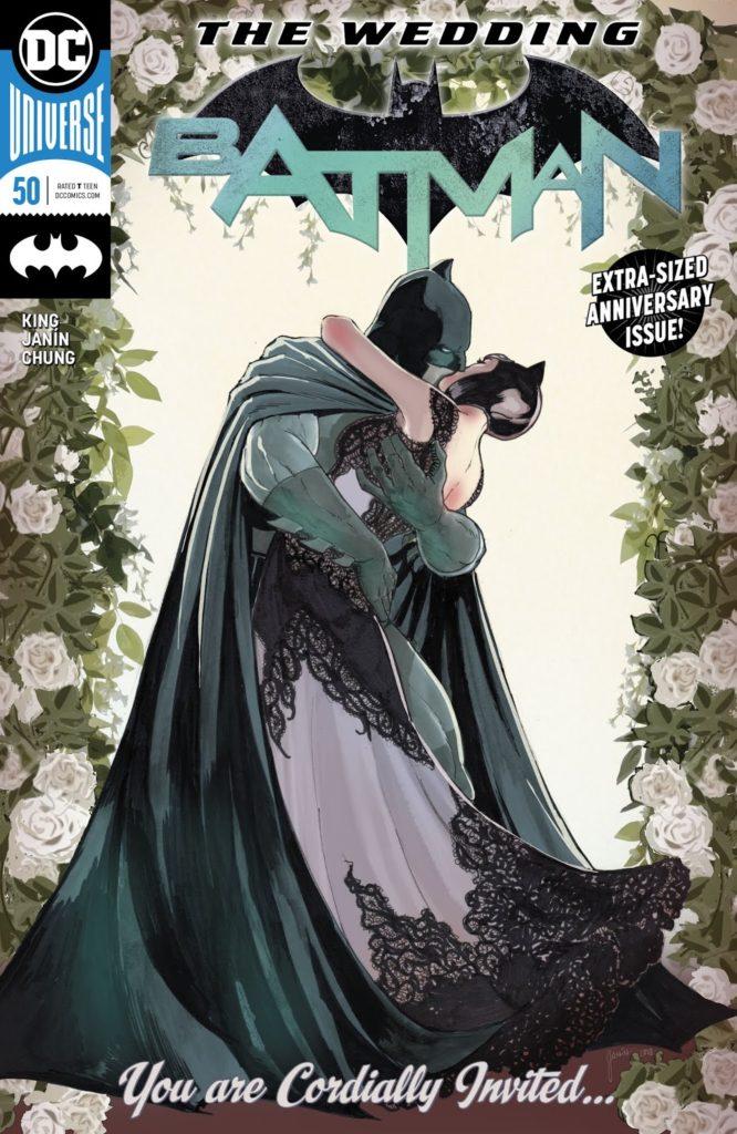 Batman Issue 50 DC Comics Catwoman wedding
