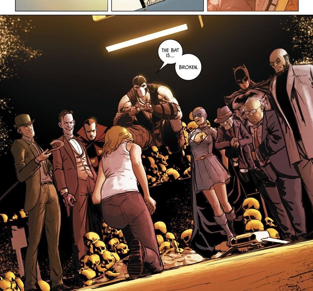 Bane cabal in Batman Issue 50