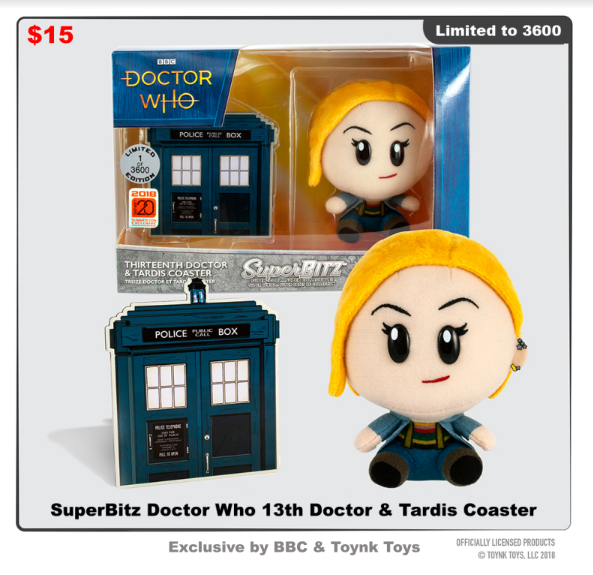 Dr Who 13 BBC Toynk Toys SDCC 18