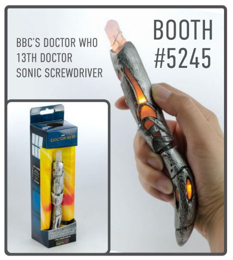 Dr Who Toynk Toys SDCC 2018 sonic screwdriver