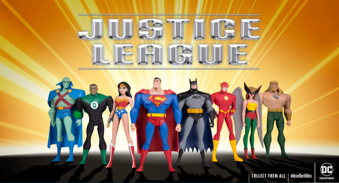 Justice League action figures DC Collectibles