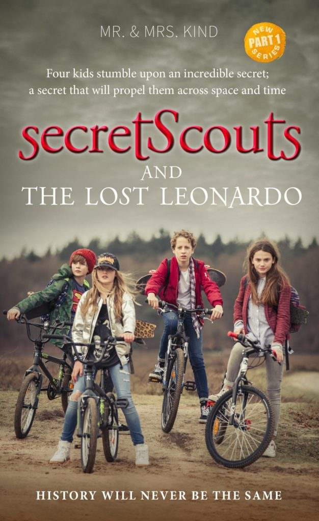Secret Scouts and the Lost Leonardo Book