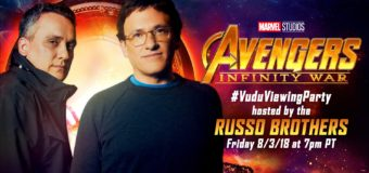 Avengers: Infinity War #VuduViewingParty on August 3! Digital Copy Giveaway!
