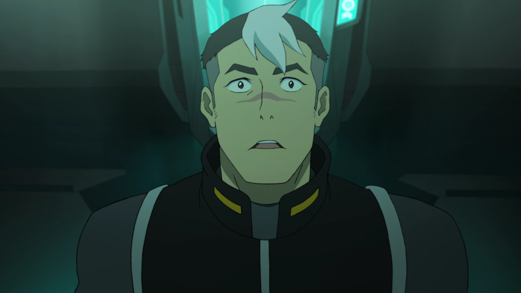 Shiro is gay YAY Voltron