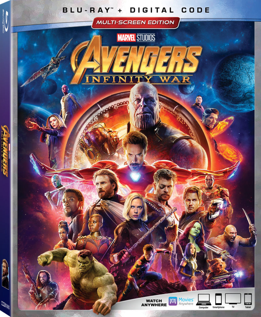 Avengers Infinity War Blu-ray Release Marvel Disney