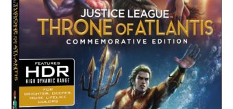 """Justice League: Throne of Atlantis – Commemorative Edition"" Releasing This November"