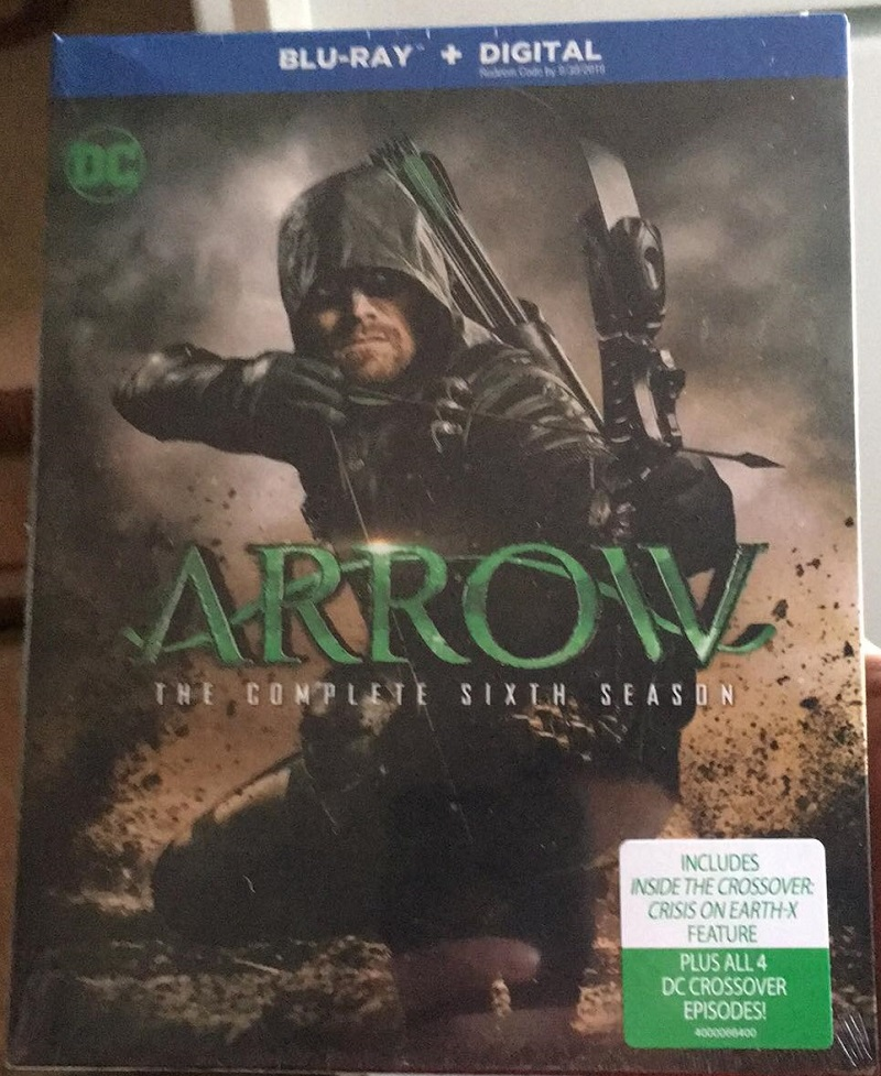 Arrow season six Blu-ray DVD review Warner Bros Home Entertainment