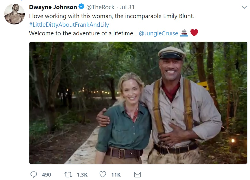 Disney Jungle Cruise gay character Jack Whitehall