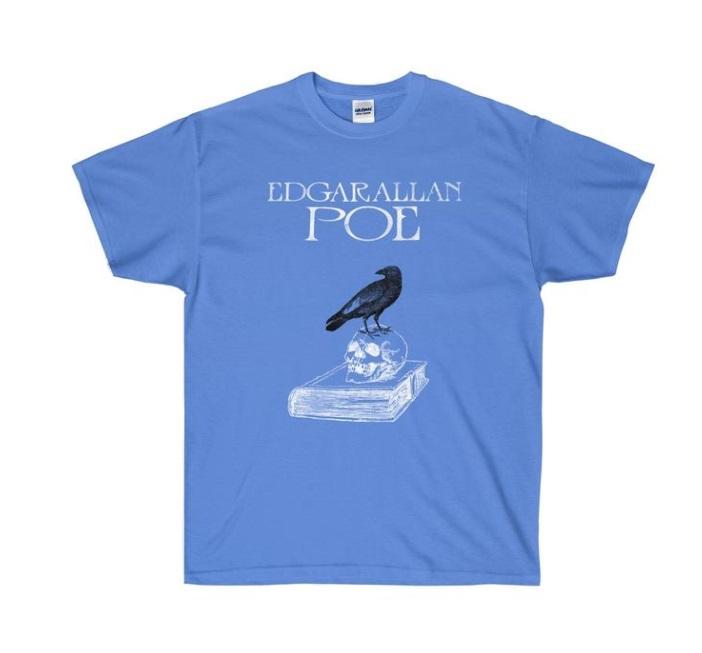 Edgar Allan Poe t-shirt Literary Book Gifts