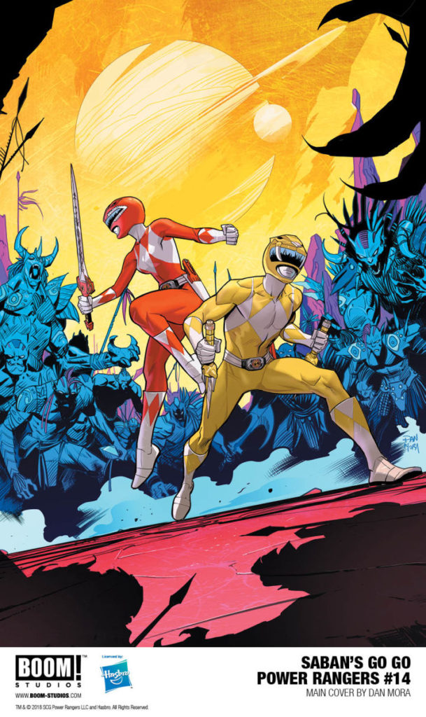 Go Go Power Rangers Boom Studios Issue 14