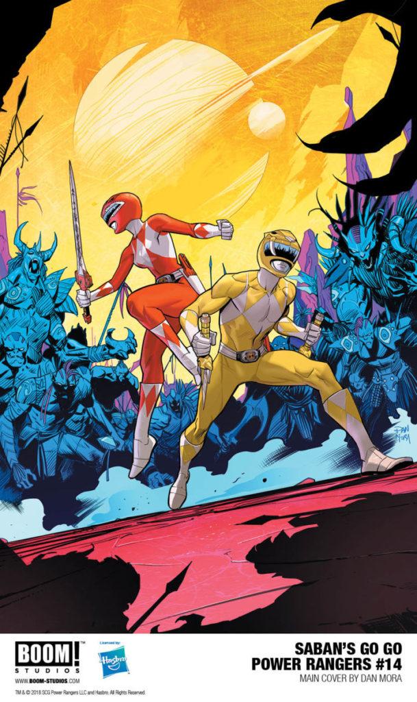 Go Go Power Rangers Boom Studios Issue 14