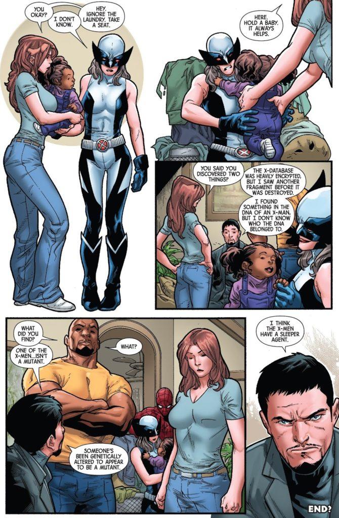 Hunt for Wolverine Adamantium Agenda Issue 4