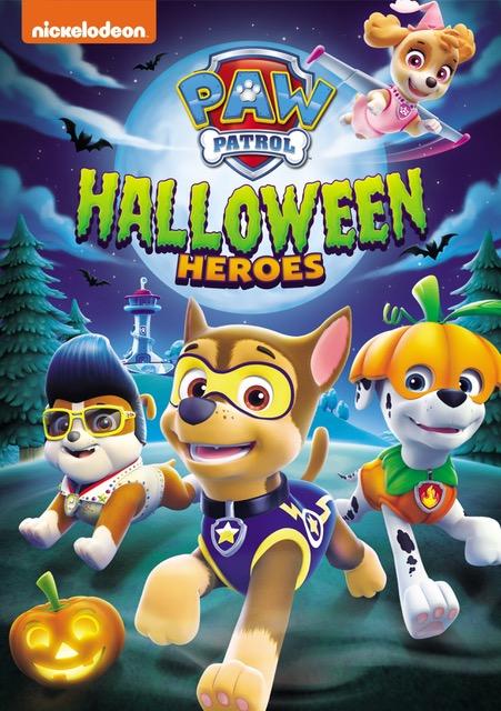 PAW Patrol Halloween Heroes DVD September release