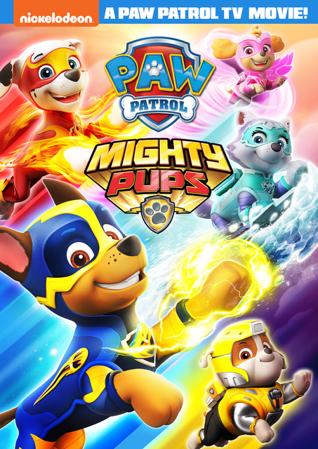 PAW Patrol Mighty Pups DVD Release September