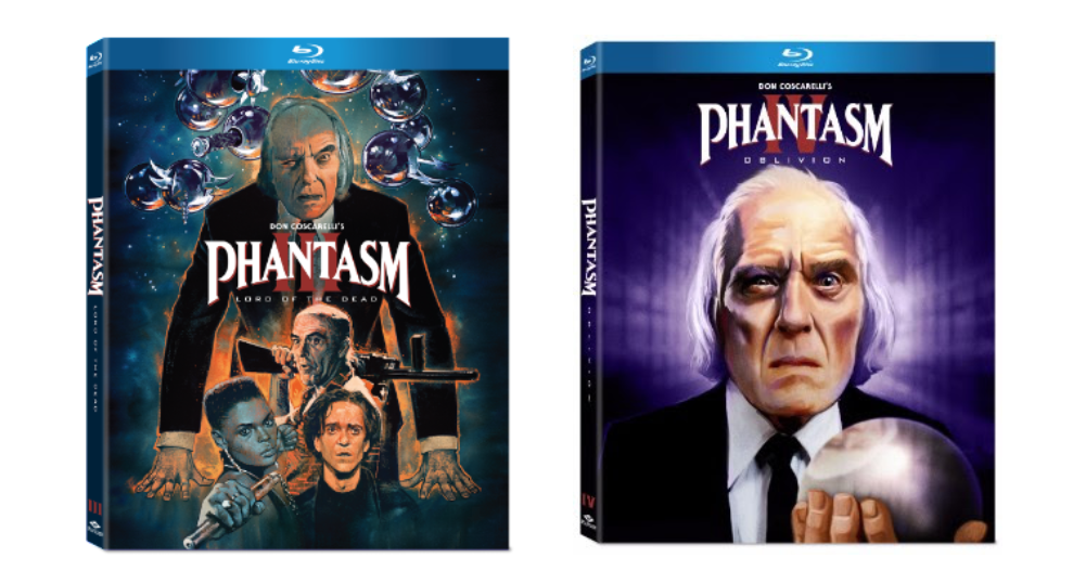 Phantasm III IV Blu-ray Well Go USA Entertainment release