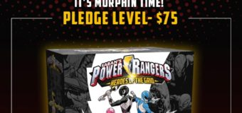 The Power Rangers: Heroes of the Grid Board Game Looks Amazing!