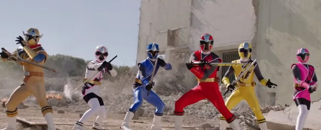 Power Rangers Super Ninja Steel Rangers 25 Anniversary Episode