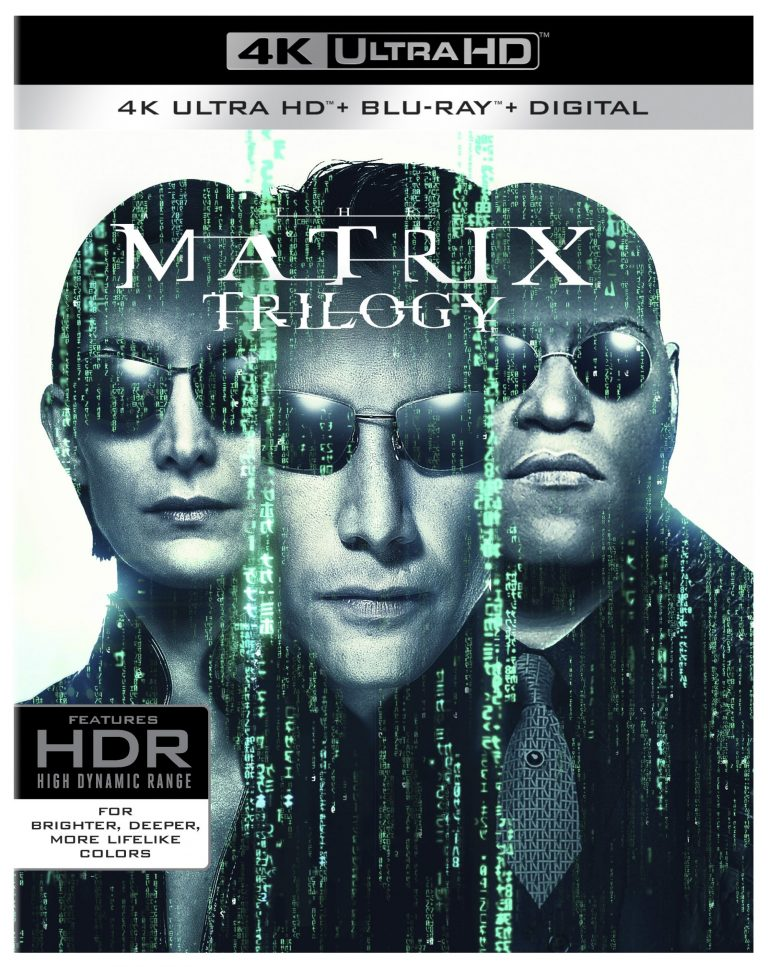 The Matrix Trilogy 4K Ultra HD Blu-ray Combo Pack Warner Bros. Home Entertainment