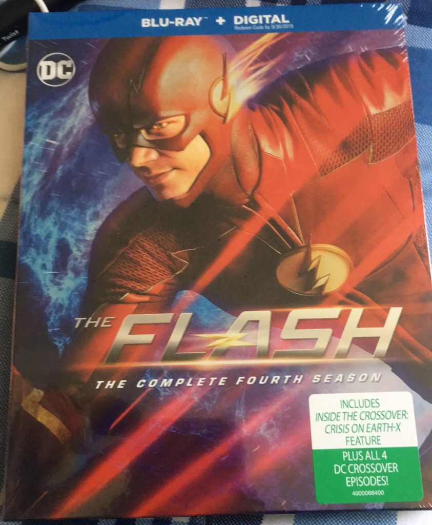 The Flash season 4 Blu-ray review warner bros