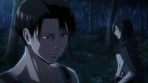 Attack on Titan Trust Levi Mikasa