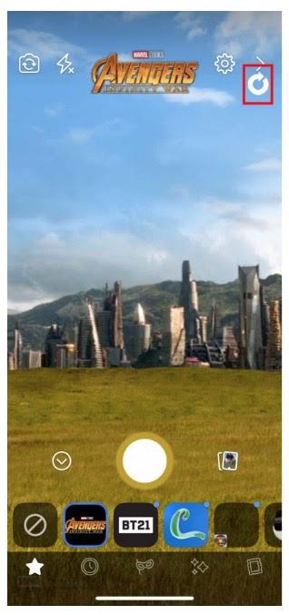 Avengers Infinity War custom Facebook AR Mask