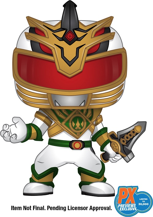 Power Rangers Tommy Lord Funo