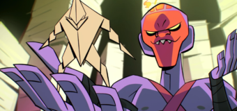 Rise of the Teenage Mutant Ninja Turtles 1x02a & 2b Review: Origami Tsunami & Donnie's Gifts