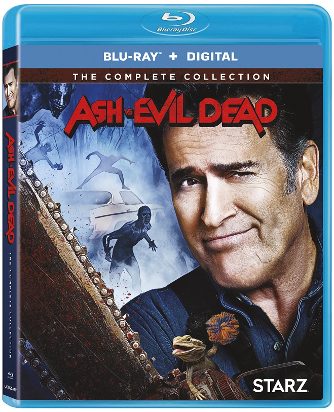 Ash vs Evil Dead The Complete Collection Blu-ray DVD release Lionsgate