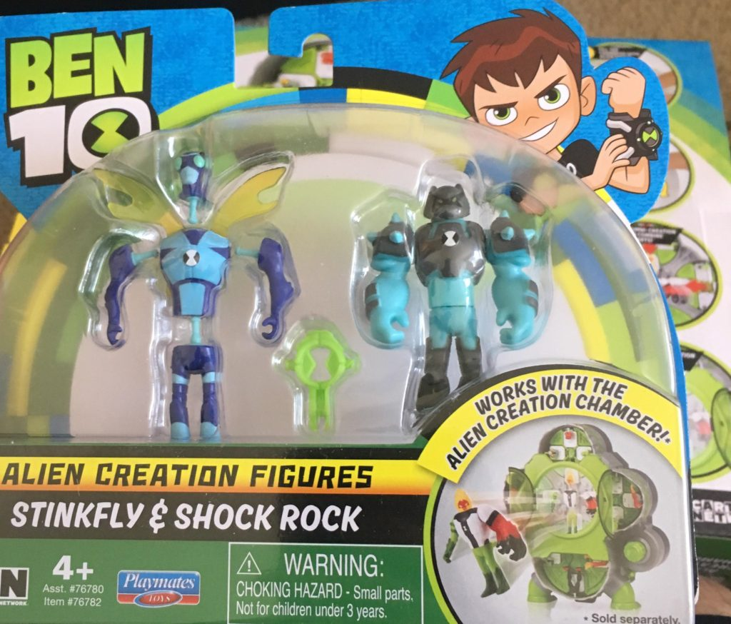 Ben 10 Alien Creation Chamber Playmates Toys review 2 pack
