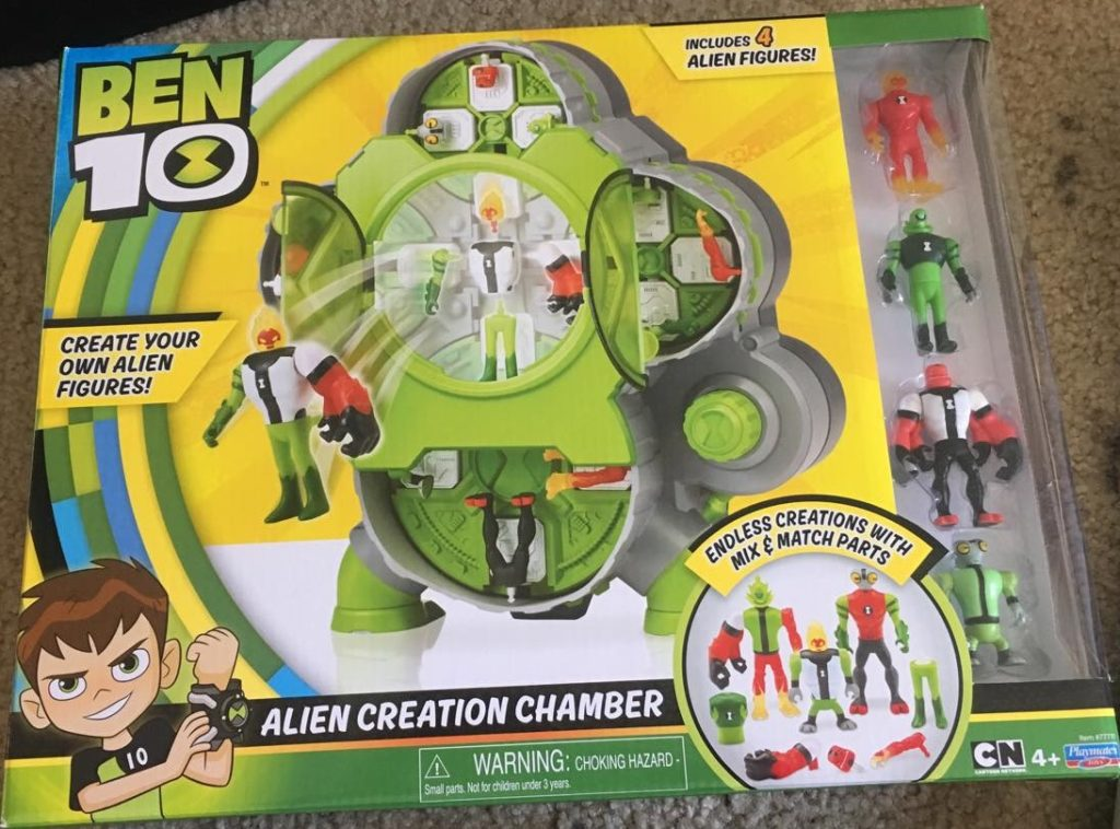 Ben 10 Alien Creation Chamber review Playmates Toys