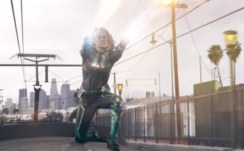 Captain Marvel Trailer 1 Breakdown Brie Larson as Carol Danvers