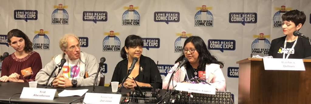 Impact of LGBTQ Comic Creators and Readers panel