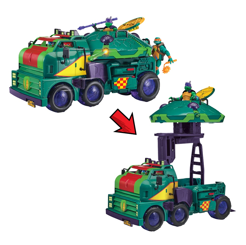 Rise of the TMNT toy line Playmates Toys