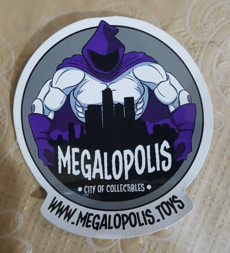 Megalopolis Overlord Sticker
