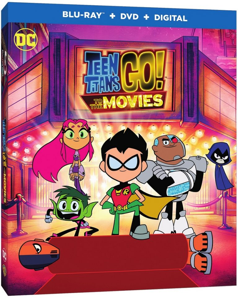Teen Titans GO! to the Movies Blu-ray & DVD Oct 30! Digital Oct 9, 2018!