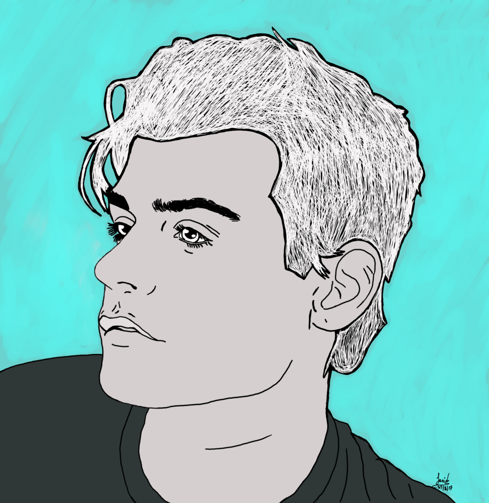 Garrett Clayton art work