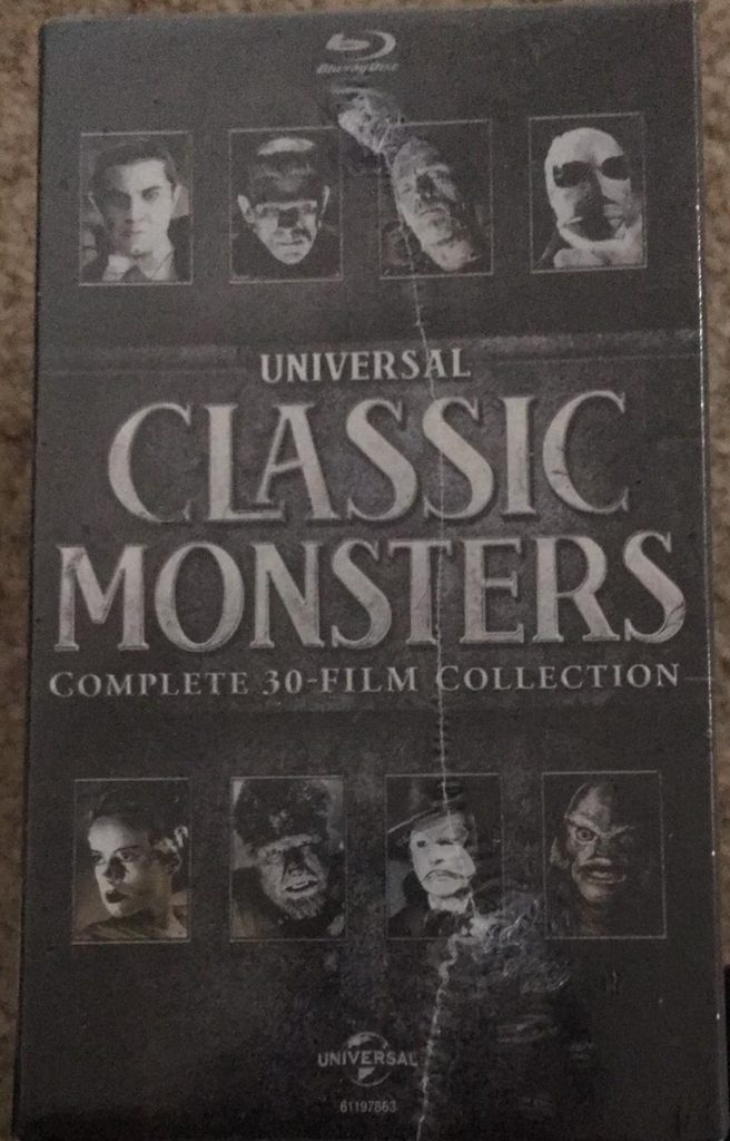 Universal Classic Monsters 30 Blu-ray review