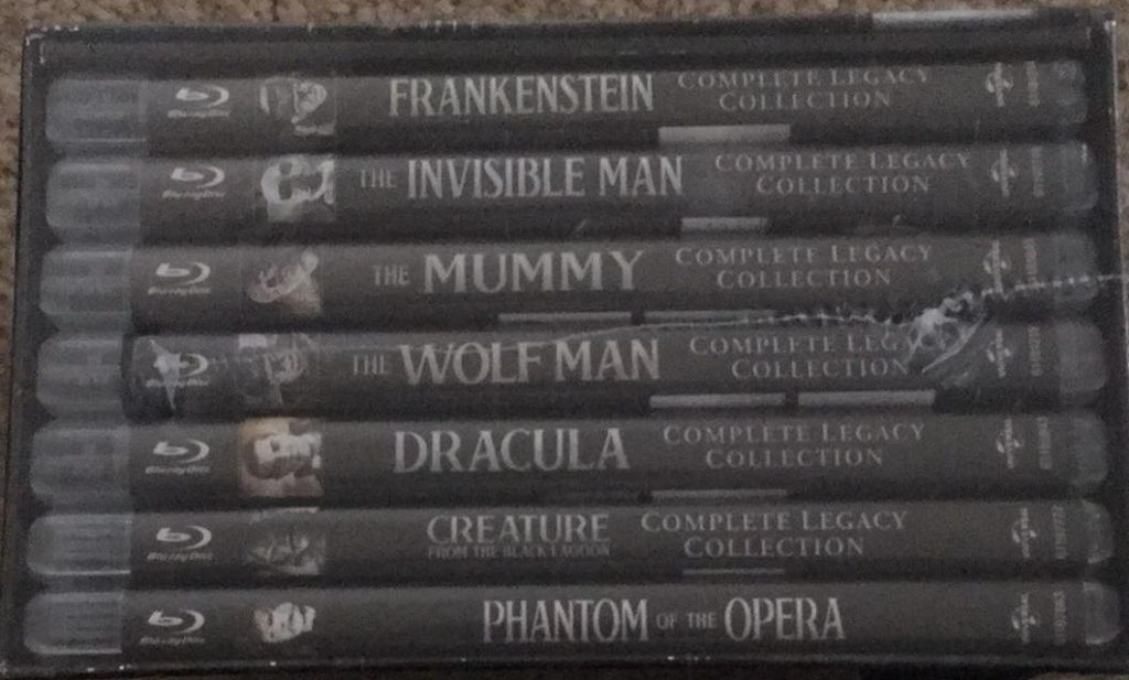 Universal Classic Monster 30 Blu-ray set review